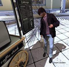 Coffee Break (carsoncaiben) Tags: spazio thaliaheckroth dieselworks catwa ikon adam nomatch labyrinth nivaro