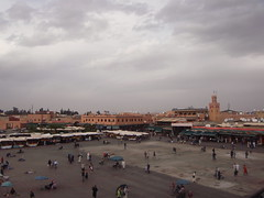 Jamaa el Fna (Rckr88) Tags: jamaa el fna jamaaelfna marrakech morocco northafrica africa travel travelling city cities square citysquare people mosque masjid minaret minarets architecture ancient