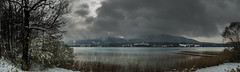 April (hjuengst) Tags: april spring snow mountain alps lake laketegernsee tegernsee panorama pano bavaria
