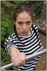 170417-164501 (Snappist) Tags: girl female woman angry girlpower martialarts portrait