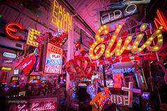 21/30 Names in Lights (Alex Chilli) Tags: godsownjunkyard e17 walthamstow neon lights colours london england east elvis
