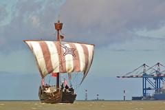 Hanseatic cog (hobbes_s2001) Tags: cog hanseatic historic ocean sail sailing sea ship traditional vintage