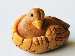 Netsuke (Smiffy'37) Tags: nut seed carved netsuke macro closeup sculpture artistic craft macromondayseed