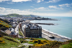 Aberystwyth (Howie Mudge LRPS BPE1*) Tags: sony a7 sonya7 sonyalphaclub aberystwyth ceredigion wales cymru uk sea coast coastaltown irishsea water sky clouds townscape landscape buildings architecture travel travelling traveller compactsystemcamera mirrorlesscamera
