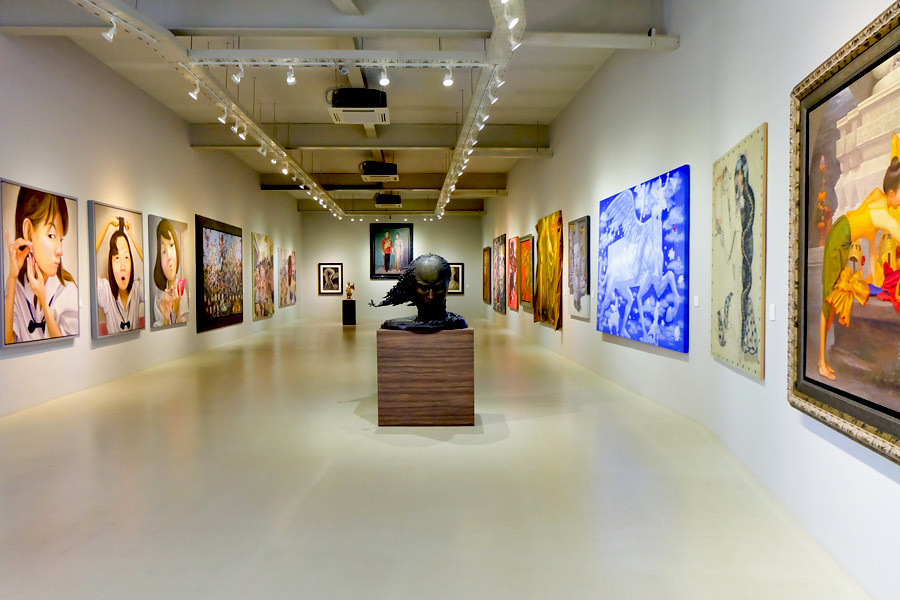 Singapore boasts many superb art galleries