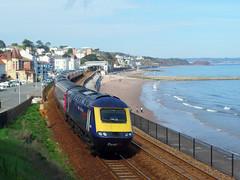 43189 Dawlish (Marky7890) Tags: gwr 43189 class43 hst 1c83 dawlish railway devon rivieraline train