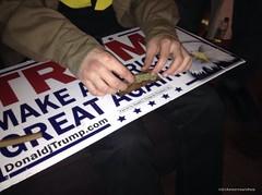 Spliff (CIAphotos) Tags: aberdeenwausa rollie marijuana trumpsign spliff campaign campaignsign blunt
