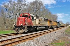 We Have a Winner (BravoDelta1999) Tags: sooline soo railroad canadianpacific cp rail milwaukeeroad milw railway cmsubdivision russell illinois emd sd60 6027 470 manifest train