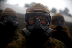 Gas Goggles (United States Marine Corps Official Page) Tags: marines latvia summershield usmc blacksearotationalforce171 nato adazi lv