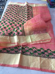 IMG_4885 (Zodiac Online Shopping) Tags: saree embroidered tradition zodiaconlineshopping kota clothing celebration occasion wedding cotton elegant zari casual comfortable festival function party ladieswear