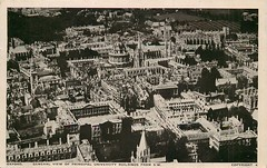 View of Oxford (mgjefferies) Tags: england oxford view aerial 1950