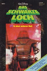 Das schwarze Loch 2 (micky the pixel) Tags: comics comic heft film movie adaption sf scifi sciencefiction waltdisney ehapaverlag dasschwarzeloch theblackhole roboter robot maximillian