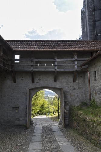 Schloss Lenzburg - unteres Tor