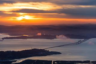 Fiery Dawn SF Bay