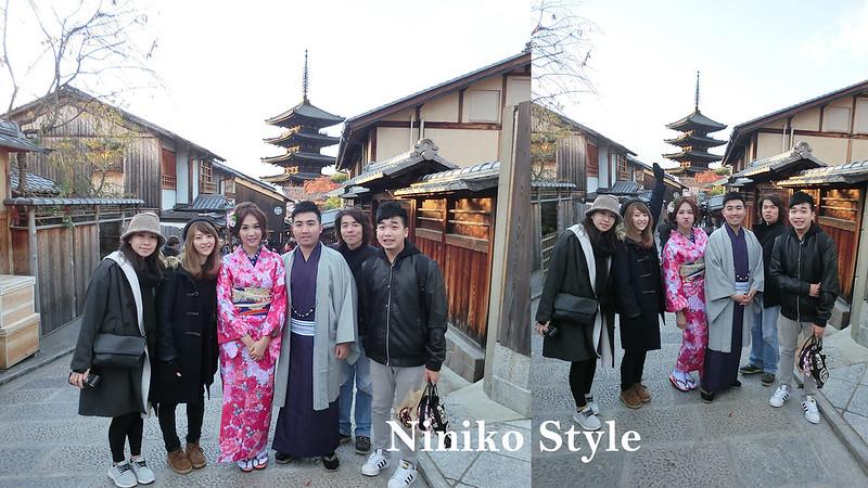 自助,海外,婚紗,楓葉,日本,京都,花圈,簡約浪漫