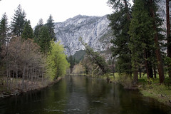 The Merced River, inside Yosemite National Park. (apardavila) Tags: california mercedriver yosemite yosemitenationalpark yosemitevalley nationalpark trees