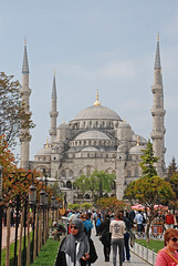 Sultan Ahmed Mosque (Gerben's Photos) Tags: blue turkey istanbul mosque sultan bluemosque ahmed sultanahmedmosque