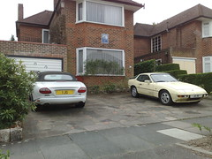 2105201310770 (uk_senator) Tags: white private beige cream plate convertible number porsche jaguar matching xkr 924 xk8 uksenator
