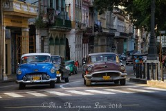 H-0176-Editwtmk (www.ThruMarzenasLens.com) Tags: old city streets cars us traffic havana cuba busy wwwthrumarzenaslenscom marzenagrabczynskalorenc