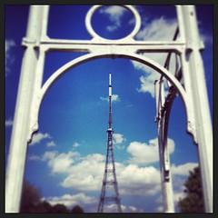 (SthLondonNick) Tags: london square squareformat southlondon crystalpalace transmitter crystalpalacepark se19 iphoneography instagramapp xproii uploaded:by=instagram foursquare:venue=4acdc8a2f964a52001cd20e3