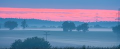 Erstes Tageslicht (Kretzsche93) Tags: sun fog sunrise nebel may himmel wolken mai sonnenaufgang altmhltal eichsttt altmhl nebelmeer nebelstimmung