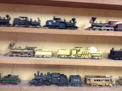 Part of My HO Scale Brass Steam & Diesel Collection (bslook1213) Tags: railroad train shay locomotive ho brass locomotives railbus hon3