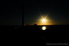 Porto Alegre (Felipe Brancher (shernobyl)) Tags: sol rio grande do porto alegre por sul usina mgico gasometro guaiba