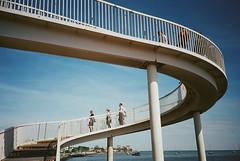 gypsy bridge (ho_hokus) Tags: uk bridge england film 35mm lomo lca unitedkingdom lomolca 35mmfilm essex leighonsea southendonsea kodakportra400 35mmcamera 2013 gypsybridge filmphotographypodcast