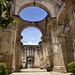 La navata laterale delle rovine della Cattedrale di Antigua