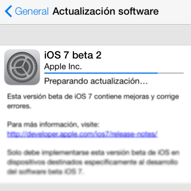 iOS 7 (beta 2) #Apple #OS #iOS #MacBook #iMac #iPhone #iPad #iPod #AppleTV #iTV.