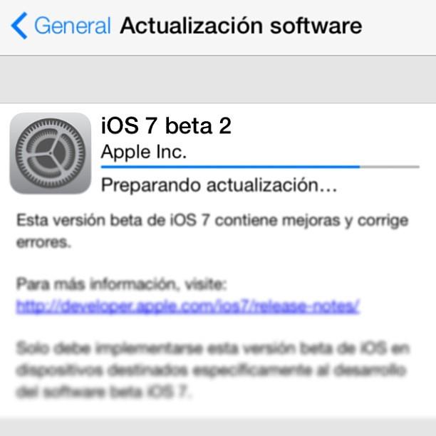 iOS 7 (beta 2) #Apple #OS #iOS #MacBook #iMac #iPhone #iPad #iPod #AppleTV #iTV.