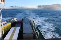 Kiwirail COOK STRAIT FERRY Arahura (Natural Beauty on Film) Tags: ferry crossing cook times rough swells strait arahura