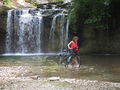 Douche à vélo