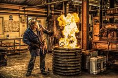 The Engineer (grbush) Tags: industry metal work foundry fire factory engineer dt30mmf28macrosam metelworker