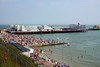 Clacton Pier, Essex (**Anik Messier**) Tags: uk summer holiday beach coast pier crowd resort essex clactononsea coastuk