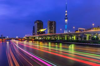 River Cruising, Asakusa, Tokyo