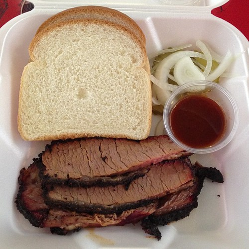 Brisket from Horse Thief Bbq
