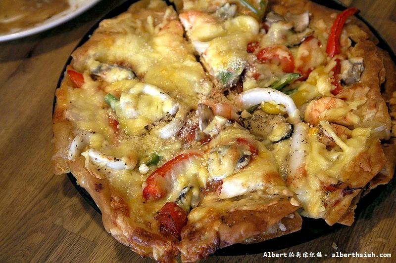 台北內湖.Aqua Kiss水吻2:義式海鮮Pizza  GaGa