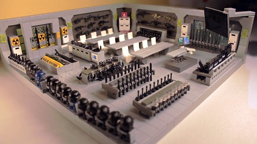 LEGO SWAT Armory and Ready Room - a photo on Flickriver
