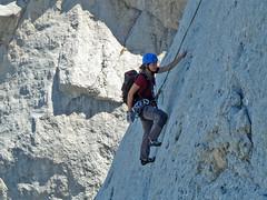Alpinismo Gran Sasso - Via delle Due Generazioni