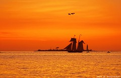 Tall Ships Visiting Collingwood (Jeff S. PhotoArt at HDCanvas.ca) Tags: sunset ontario canada ship collingwood ships tall mygearandme jeffsphotoart hdcanvas hdcanvasca