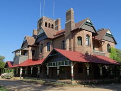 Best shot of Booloominbah erected 1888 in Armidale. Now the University of New England.