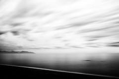 Yonder (Dr. RawheaD) Tags: ocean sea cloud beach japan haze long exposure hokkaido land canonef1740mmf4l