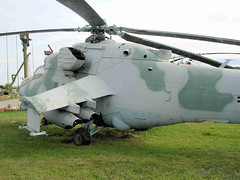 """Mi-24 Hind (9) • <a style=""""font-size:0.8em;"""" href=""""http://www.flickr.com/photos/81723459@N04/9964219504/"""" target=""""_blank"""">View on Flickr</a>"""
