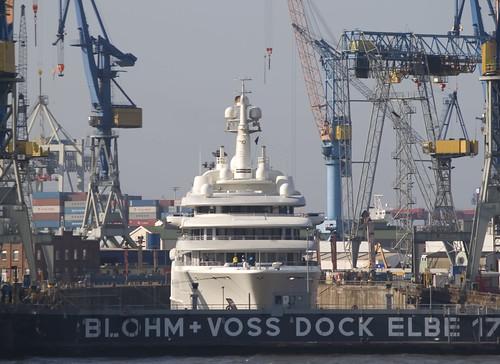 eclipse yacht hamburg voss luxus motoryacht blohm luxurious megayacht blohmvoss superyacht luxusyacht