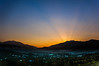 'Just In Case You Missed' (Shams Ul Haq Qari) Tags: sunset sky sun mountains green nature silhouette yellow clouds landscape evening town shine village horizon hills kashmir forests goldenhour baramulla varmul