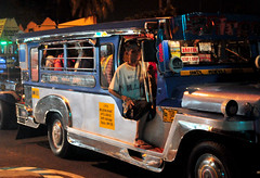 jeepney at night (_gem_) Tags: street city urban night evening publictransportation jeep philippines nighttime transportation manila vehicle jeepney metromanila