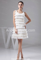 Airy-A-Line-White-Straps-Sleeveless-Short-Homecoming-Dress-San-Diego (andytailorcom) Tags: wedding girls party holiday black celebrity beautiful fashion ball evening women dress little sweet graduation best cocktail trends homecoming prom bridesmaid buy 16 cheap aline quinceanera occassion gowm andytailor