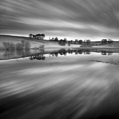 Priddy Pool. Priddy, Somerset, UK (Pixelsuzy) Tags: trees lake pond somerset le priddy mendips daytimelongexposure mendiphills priddypool pixelsuzy
