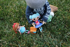 The Picnic photo story (h a l c y o n) Tags: picnic bjd fairyland fable ante littlefee lalaloopsy